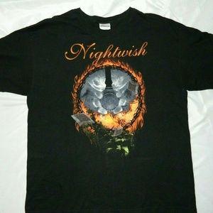 Nightwish 2008 Tour Concert T Shirt Mens XL